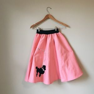 Dresses & Skirts - 50's Poodle Skirt Costume